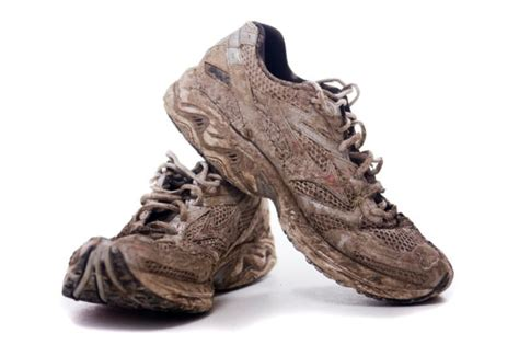 muddy shoes trying new things to keep exercising