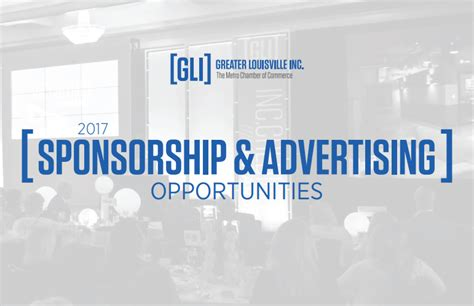 Advertising Opportunities by Advertising And Sponsorships Greater Louisville Inc
