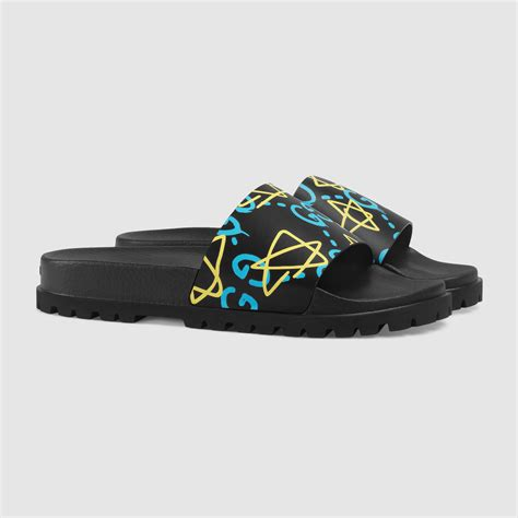 Sandal Slop Gucci Tagbox Gucci gucci s ghost sandal for lyst