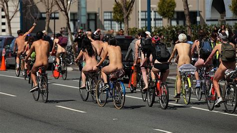 Nackt Auf Dem Motorrad by 7th Annual World Naked Bike Ride San Francisco 2016 So