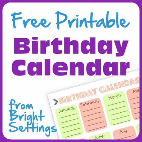 family birthday calendar template 7 best images of family birthday calendar printable free