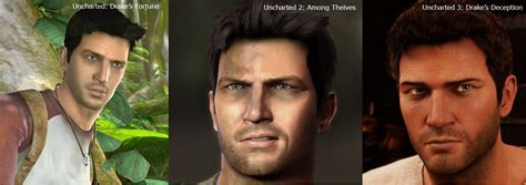 Bd Ps4 Uncharted Collection 1 2 3 by Uncharted 3 Graphical Comparison To The Series History
