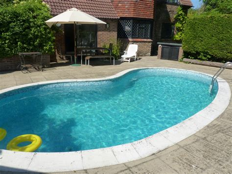 home swimming pool holiday home with swimming pool for rent near eastbourne