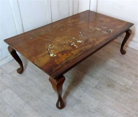 Antique Indian Coffee Table A Stunning Deco Inlaid Coffee Table In An Indian Theme 265399 Sellingantiques Co Uk