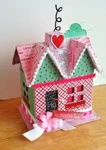 diy s day paper mache house mod podge rocks