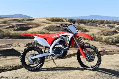 2019 Honda Dirt Bikes by 2019 Honda Crf450rx Review Dirt Bikes Ride