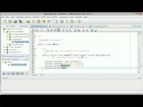tutorial for netbeans 8 video tutorial agenda com mysql e netbeans aula 8 youtube