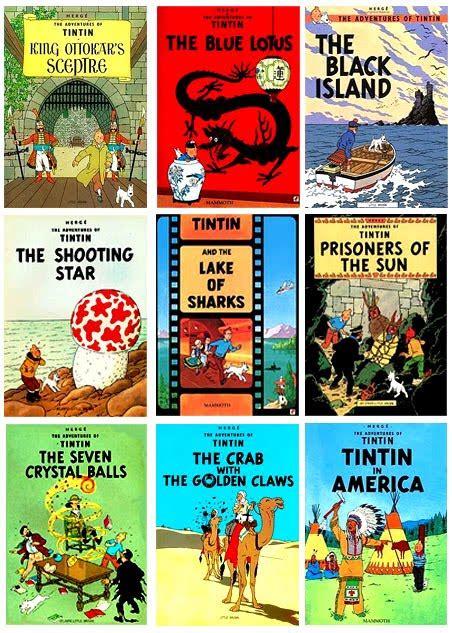 Komik Jelajah Dunia Inggris Dunia Komik Komik Tintin Collection 2