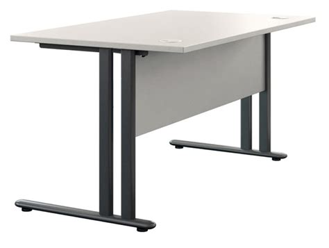 modesty panel for desk buronomic c1 single straight desk with modesty panel