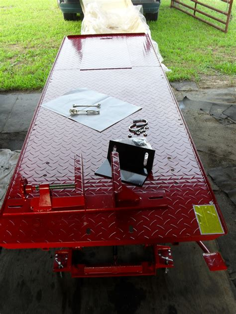Review   Harbor Freight Motorcycle Lift Table