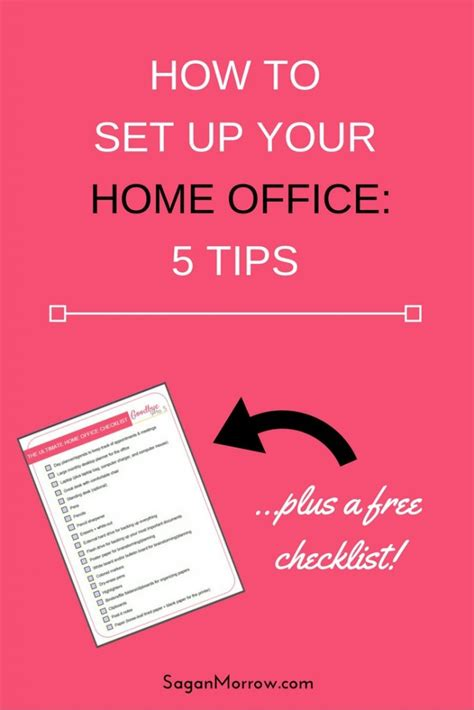 checklist essentials setting up house the ultimate home office checklist tips for setting up