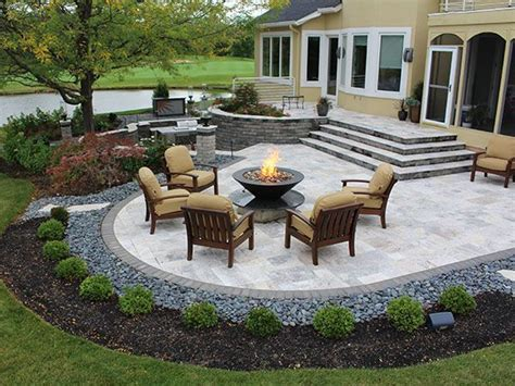 stone for backyard patio 25 best ideas about stone patios on pinterest paver