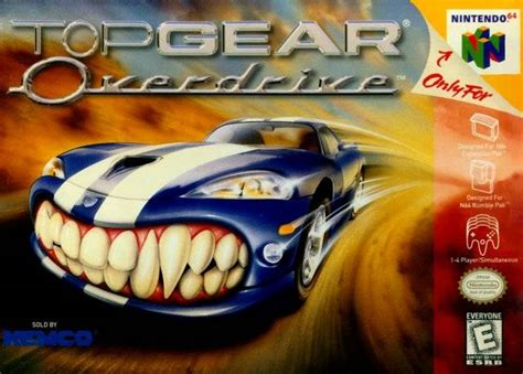 emuparadise n64 top gear overdrive usa rom