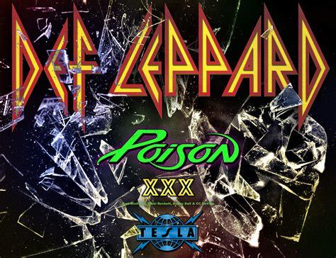 2017 american tour w poison tesla def leppard