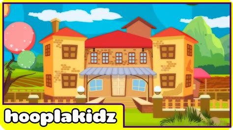 what rhymes with house this is the house that jack built nursery rhymes by hooplakidz youtube