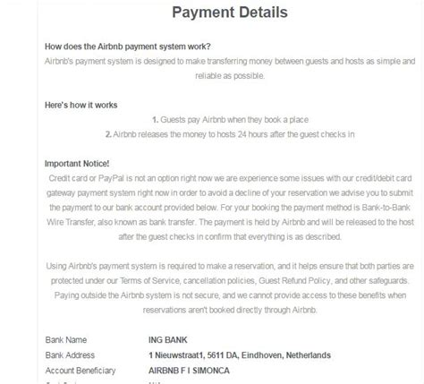 airbnb scams fake listing in sydney australia airbnb community