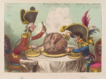 The Plumb Pudding In Danger by Waterloo A Victory For European Co Operation Not Just
