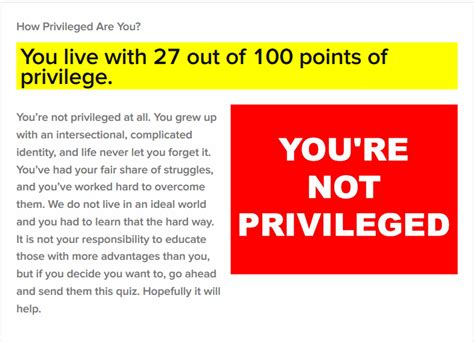 check your check your privilege buzzfeed test