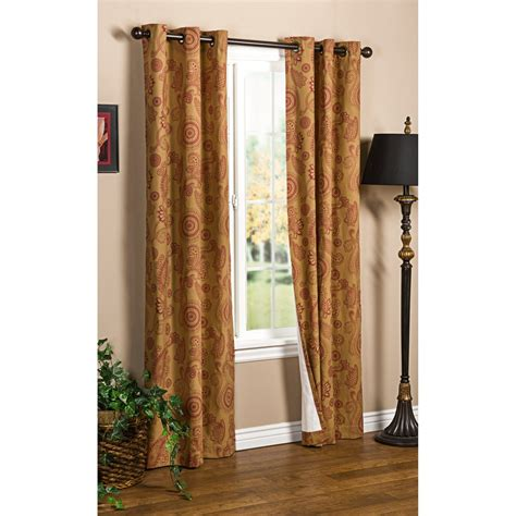 thermalogic drapes thermalogic weathermate plymouth paisley curtains 80x63