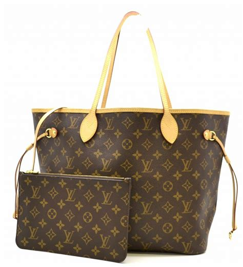louis vuitton monogram neverfull mm tote bag shoulder bag