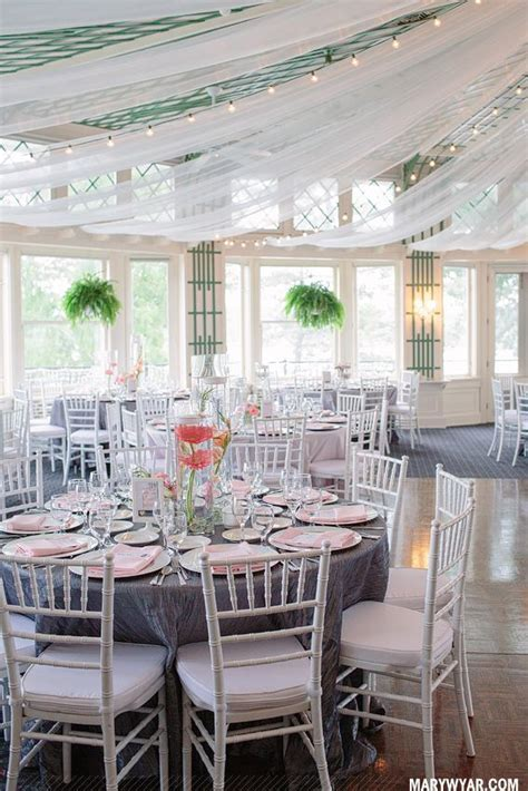Toledo Ohio Modern Grey & Pink Toledo Country Club wedding