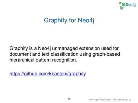 pattern recognition text classification document classification with neo4j