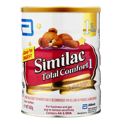similac total comfort similac 1 x 820g total comfort 1 lowest prices