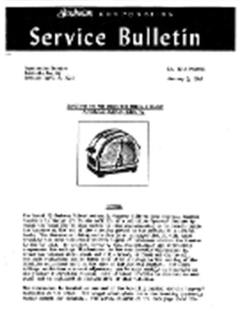 Vintage Sunbeam Mixmaster Maintenance Manuals