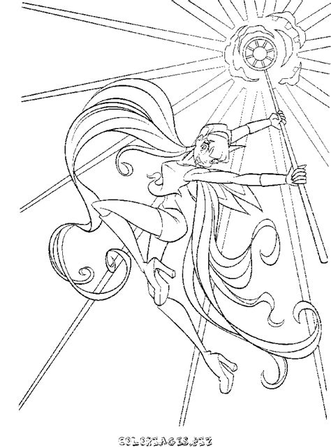anime magical girl coloring pages coloriage winx gratuit 5778 h 233 ros