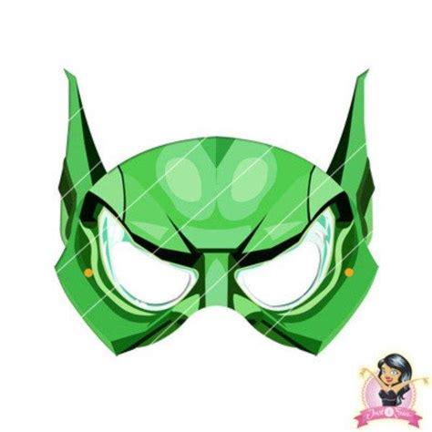 Printable Goblin Mask | childrens diy printable green goblin mask printable masks