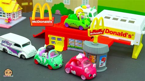 Mini Mixie Q Coloring Pages by Shopkins Cutie Cars Order Food Through Mcdonalds Drive