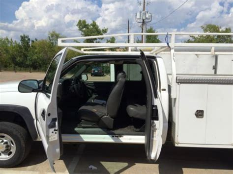 harbor utility bed find used silverado classic 2500hd 4x4 white 8 foot