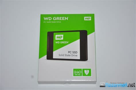 Western Digital Wd Green Ssd 120gb review wd green ssd 240 gb razorman net reviews hardware
