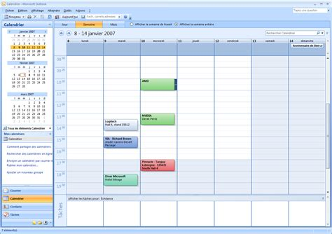 Afficher Le Calendrier Comment Afficher Le Calendrier Outlook