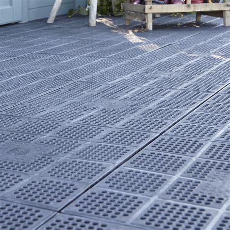 xtiles terrasse dalle clipsable polypropyl 232 ne xtiles marron l 40 x l 40