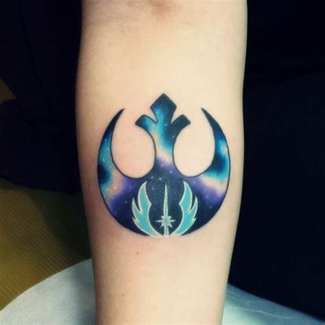jedi tattoos 45 most ironic wars tattoos designs