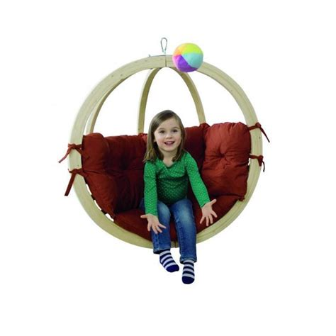 globo swing chair kids globo terracotta hanging chair simply hammocks