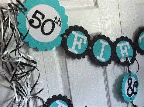 Fifty Birthday Decorations 50th birthday decorations favors ideas