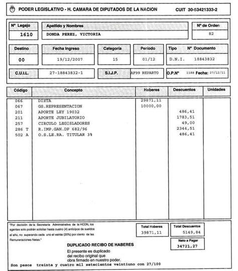 recibo de sueldo provincia de corrientes recibo de sueldo de un diputado taringa