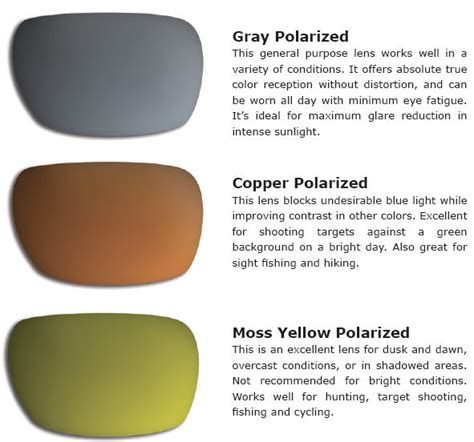 sunglass lens colors the benefits of polarized sunglasses sunglasses and