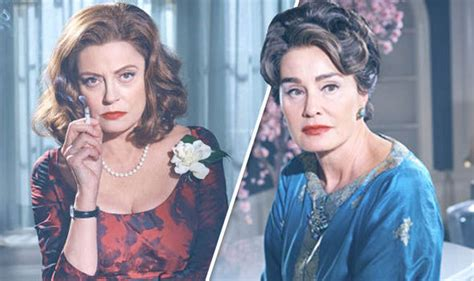jessica lange and susan sarandon as joan crawford and when does feud bette and joan start release date