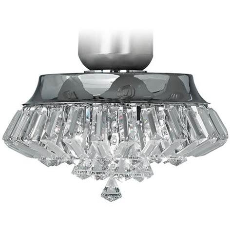 clear chrome universal ceiling fan light kit deco chrome universal ceiling fan light kit
