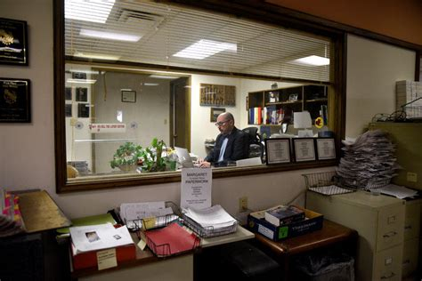 newspaper office layout hard feelings linger in an oklahoma town after newspaper