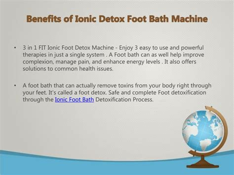 Detox Machine Benefits by Ppt How To Get Started With Ionic Detox Foot Bath