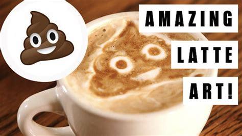 barista creates fun latte art  internet memes