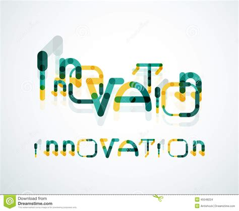 design concept words list innovation word concept stock photo image 45548224