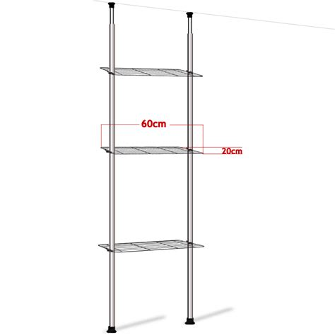 telescopic bathroom shelves telescopic bathroom shelves ruco telescopic corner