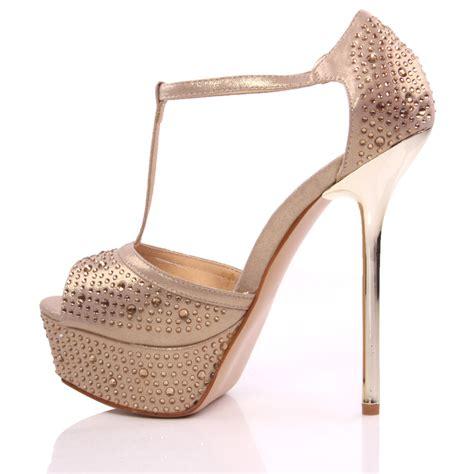 15 Most Beautiful Evening Shoes by Unze Dina Womens Beautiful High Heel Evening Sandals Size