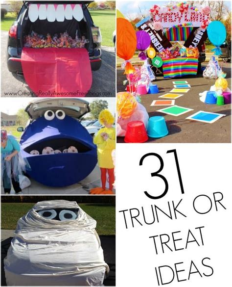 halloween themes for trunk or treat trunk or treat decorating ideas