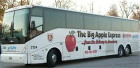 hunt valley motor coach nyc travel aboard the big apple express between the beltway
